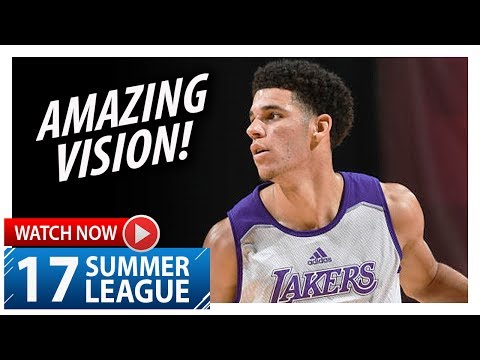 Download Youtube: Lonzo Ball Triple-Double Highlights vs Celtics (2017.07.08) Summer League - 11 Pts, 11 Ast, 11 Reb