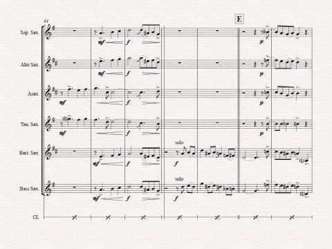 Oh Christmas tree - Oh Tannenbaum - Funky - Saxophone Quartet