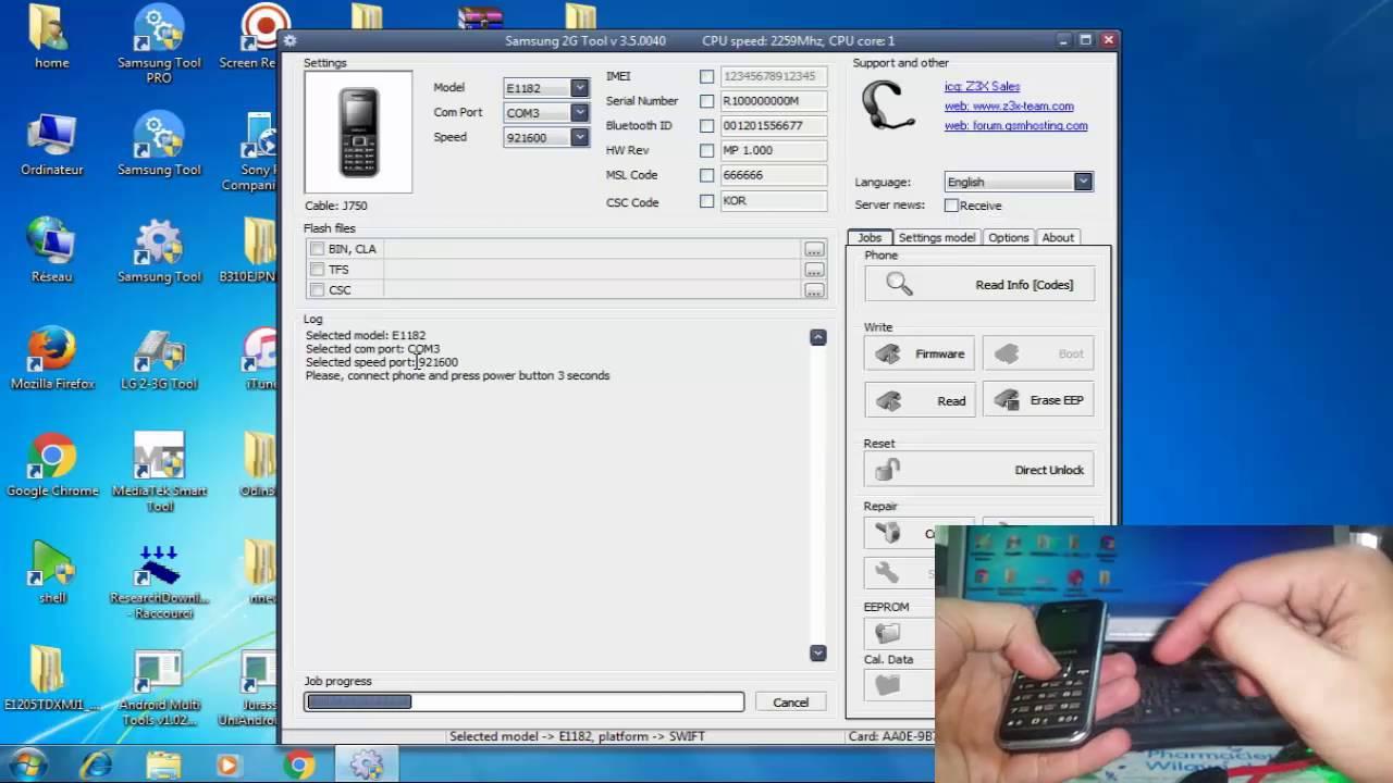 SAMSUNG 2G TOOL V 3.5.0040