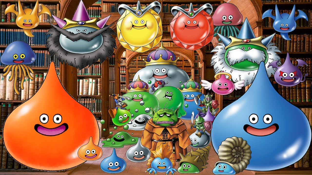 How to get EVERY SLIME MONSTER in Dragon Quest Monsters Joker