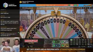 LIVE CASINO GAMES with !guest + !giveaway ending soon - !feature to win €€€ 👏👏 (27/11/19)