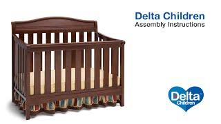 Delta Children Summit 4-in-1 Crib Assembly Video