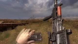 видео Сталкер Shoker Weapon Mod 2.1 + графические моды. (Балуемся с оружием.)