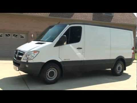 2008 DODGE SPRINTER 2500 CARGO VAN DIESEL FOR SALE SEE WWW SUNSETMILAN COM - YouTube