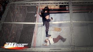 30-Second Fury - Hell in a Cell moments