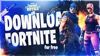 How To Install Fortnite Battle Royale For Free ON PC! (2018)