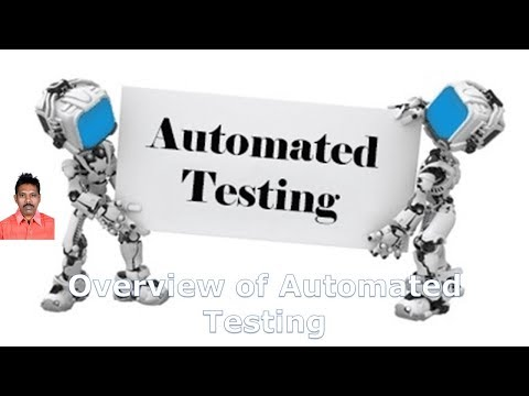 Overview of Automated Testing|Test Automation Fundamentals|G C Reddy|