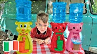 Cinque Bambini Storia di acqua costoso