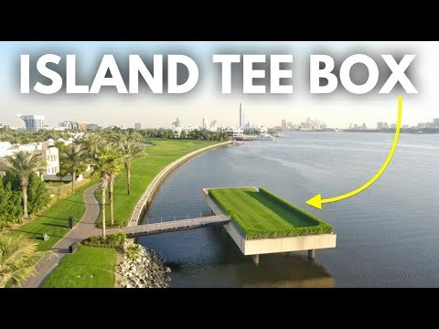 The Coolest Tee Box in Golf | Dubai Creek Part 2