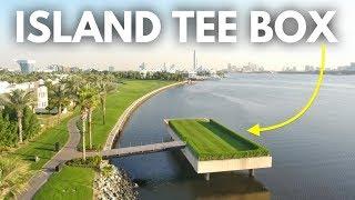 The Coolest Tee Box In Golf   Dubai Creek Part 2
