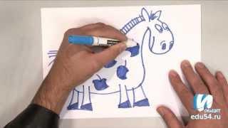 Рисуем вместе. Урок №3 «Лошадь»(Цикл уроков о том, как с помощью незамысловатых приёмов можно научится рисовать. Цикл будет интересен детям..., 2013-09-19T04:12:12.000Z)