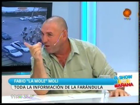 La Mole Moli en El Show de la Mañana 07 01 2016