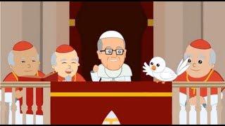 La vida del Papa Francisco en dibujos animados