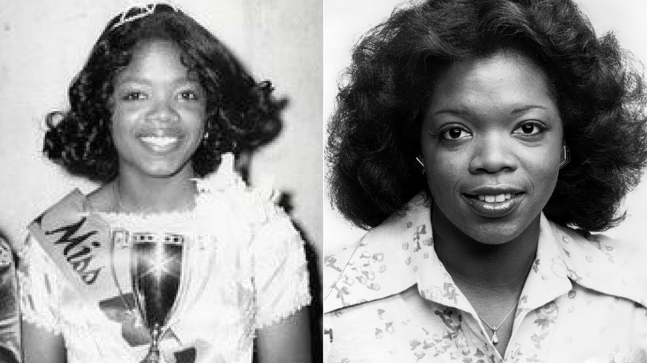 Oprah Winfrey Before She was Famous - Childhood Pics - YouTube