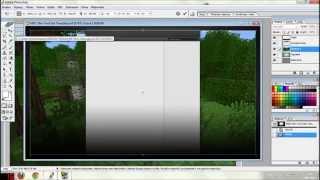 YOUTUBE background maker / MINECRAFT HD