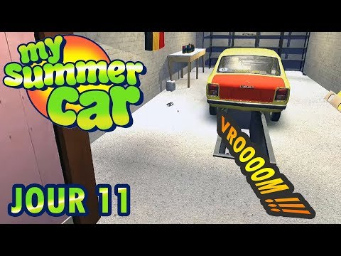 MY SUMMER CAR : #11 - EST-CE QUE CA ROULE ? [FR]