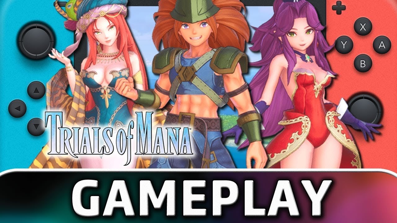 Trials of Mana | First 25 Minutes on Nintendo Switch