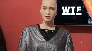 Download CES 2019: AI robot Sophia goes deep at Q&A Mp3 and Videos