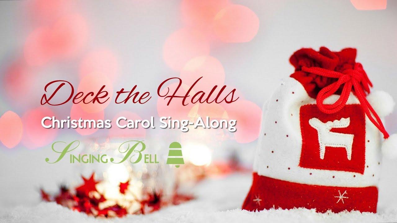 Deck the Halls | Christmas Sing-Along with Lyrics - YouTube