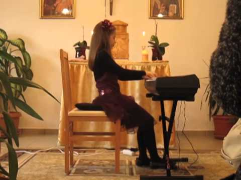 Maria Alice POENARIU - Christmas Piano Recital, Greek-Catholic Church Timisoara IV, 14.12.2014