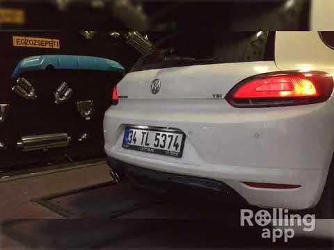 Volkswagen Scirocco 1.4 Tsi, Varex Egzoz Sesi