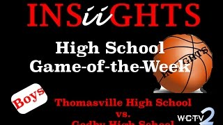 INSiiGHTS High School Game-of-the-Week: Thomasville High at Godby Basketball (Boys)