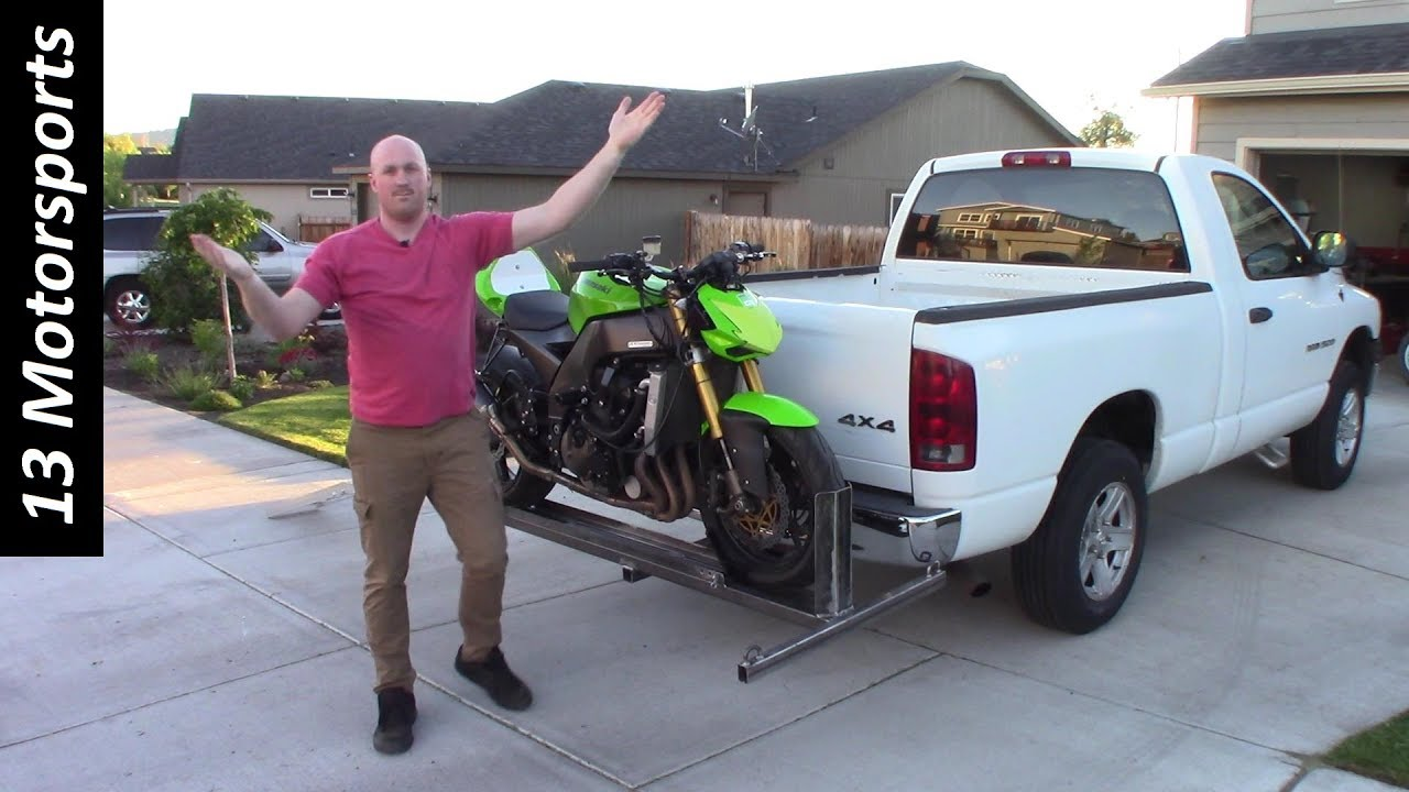 motorcycle carrier for truck