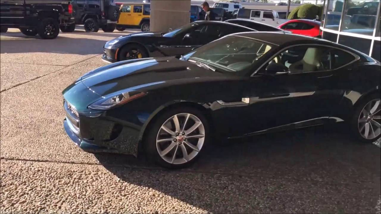 2016 Jaguar F Type Dallas, TX | Pre Owned Dealership Dallas, TX