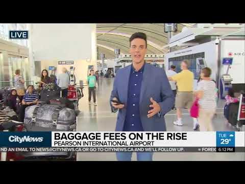 Two Canadian Airlines Hike Baggage Fees