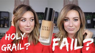 BOBBI BROWN SKIN LONGWEAR WEIGHTLESS FOUNDATION DEMO & REVIEW