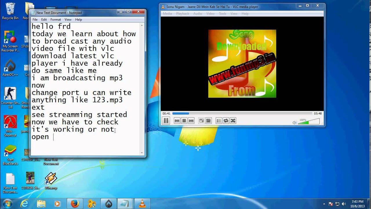 windows vlc server