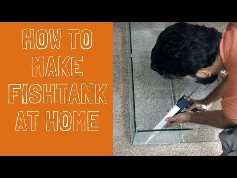 How To Make Aquarium At Home | DIY | The Indian FishKeeper