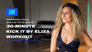 Entraînement de 30 minutes de kickboxing avec Kick It par Eliza