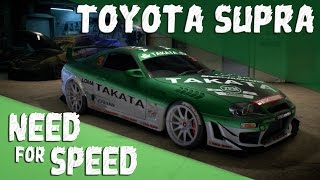 Need for Speed 2015 [PS4] Toyota Supra Customization
