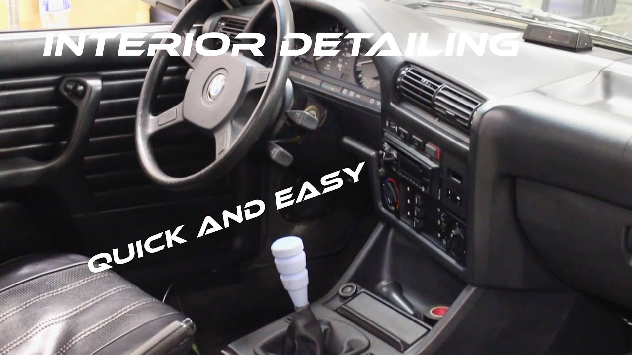 Interior Detailing Quick Simple And Easy Chemical Guys Youtube
