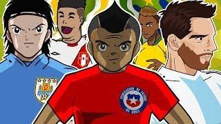 Copa America 2019 ANIME Opening