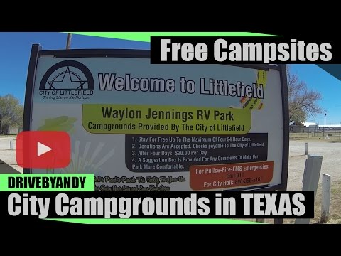 Free Campgrounds in Texas Panhandle