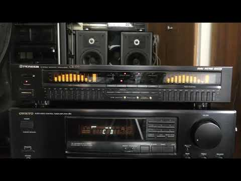 Pioneer GR-777 Stereo Graphic Equalizer Double Spectrum Analyzer DEMO...