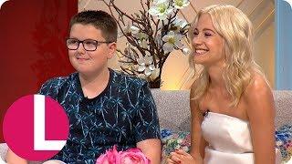 The Voice Kids Winner Daniel Davis Has Inspired Pixie Lott | Lorraine