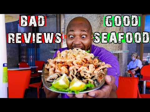 WE LOVED THE WORST REVIEWED RESTAURANT IN ZAGREB | Zagreb Food | What To Eat In Croatia Amfora