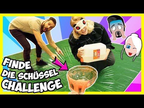 FINDE DIE SCHÜSSEL = DU GEWINNST! Wer Kann Die Blind Slime Challenge Gewinnen? Nina Vs. Kaan
