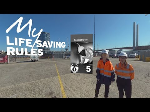 Confined Spaces [Desktop] – Intro to My Life Saving Rules in 360