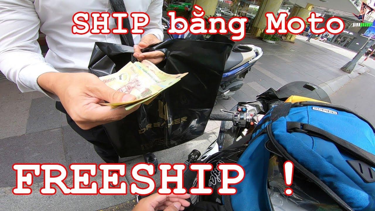 Phản Ứng Của Khách Khi Ship Hàng Bằng Phân Khối Lớn ! – Reaction ZX10R Shipper