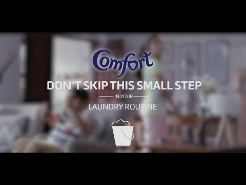 Comfort After Wash - A Small Step for Big Shine