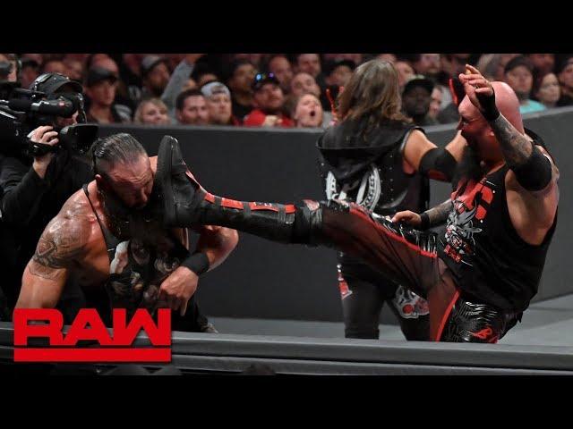 Gallows & Anderson vs. Seth Rollins & Braun Strowman – Raw Tag Team Title Match: Raw, Aug. 19, 2019