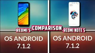 xiaomi Redmi 5 vs Redmi Note 5 Comparison