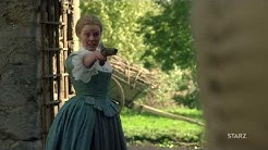 Outlander S03E08 Laoghaire tries to kill Jamie