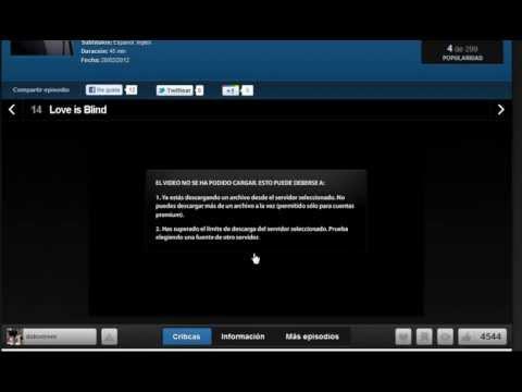Cuenta Premium Wupload No Me Carga Video De Cuevana Peliculas y Series Cuevana.tv