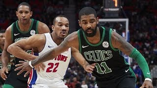 Kyrie Irving Done Wearing Mask! Celtics Hold Pistons 33%! 2017-18 Season