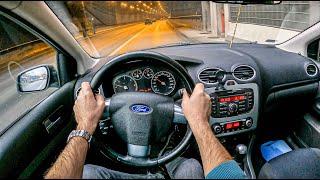 Ford Focus 2007 | POV Test Drive #640 Joe Black